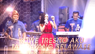 Lirik Lagu Kowe Tresno Aku Tak Sayang Selawase - Gita Florencia