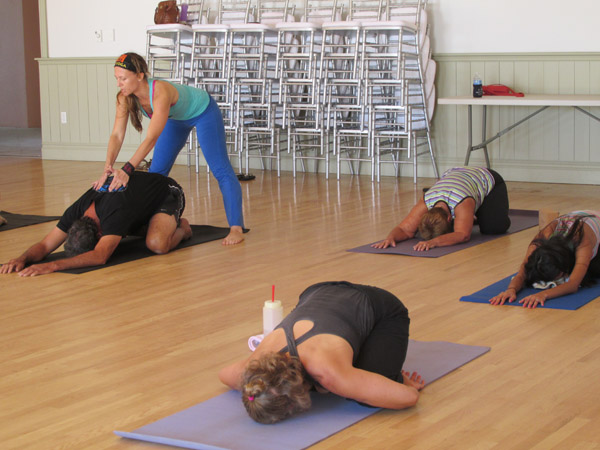 ExtraStep: Lake Worth Yoga Lounge underway at casino ballroom