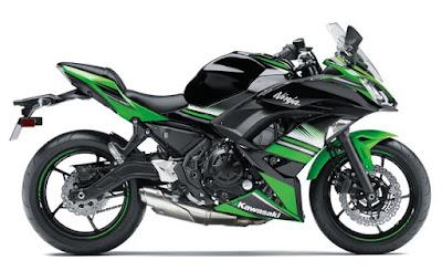 2017 Kawasaki Ninja 650 ABS KRT Edition side look