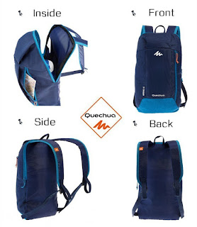 Quechua boys and girls backpacks