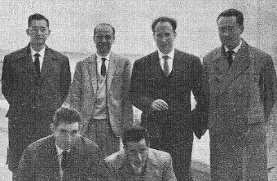 Equipo de España en la Olimpíada de Varna 1962