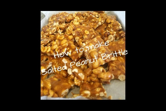this is how to make homemade peanut brittle