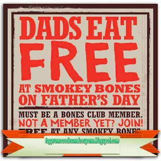 Free Printable Smokey Bones Coupons
