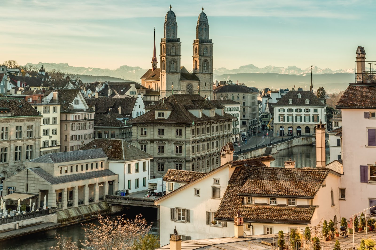 City break to Zurich in winter