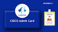 CIDCO Admit Card