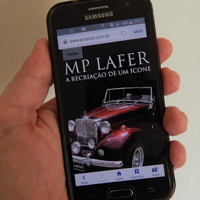 O livro digital do MP Lafer será vendido pela Amazon do Brasil.