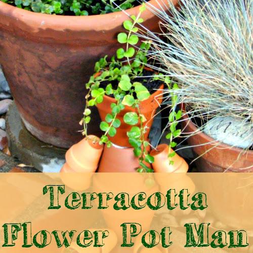 Terracotta Flower Pot Man - Weekend Yard Work Series