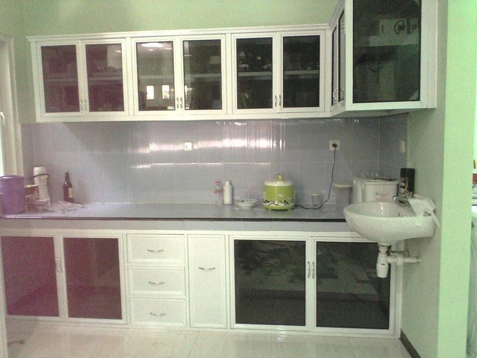 0853 4787 8600 Tsel Kitchen Set Aluminium Composite Banjarmasin