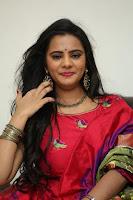 Manasa in Pink Salwar At Fashion Designer Son of Ladies Tailor Press Meet Pics ~  Exclusive 17.JPG