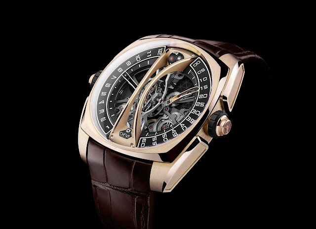 Cyrus - Klepcys Vertical Skeleton Tourbillon