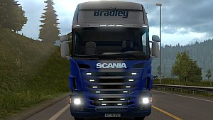 Bradley Transport Scania R skin