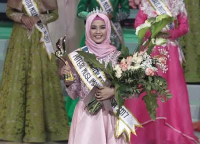 Jepara Berbangga, Syifa Fatimah asal Jepara Menjadi Pemenang Puteri Muslimah Indonesia