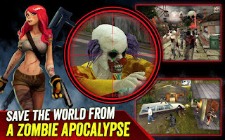 Zombie Hunter Apocalypse V2.4.2 Apk ( Mod Money )
