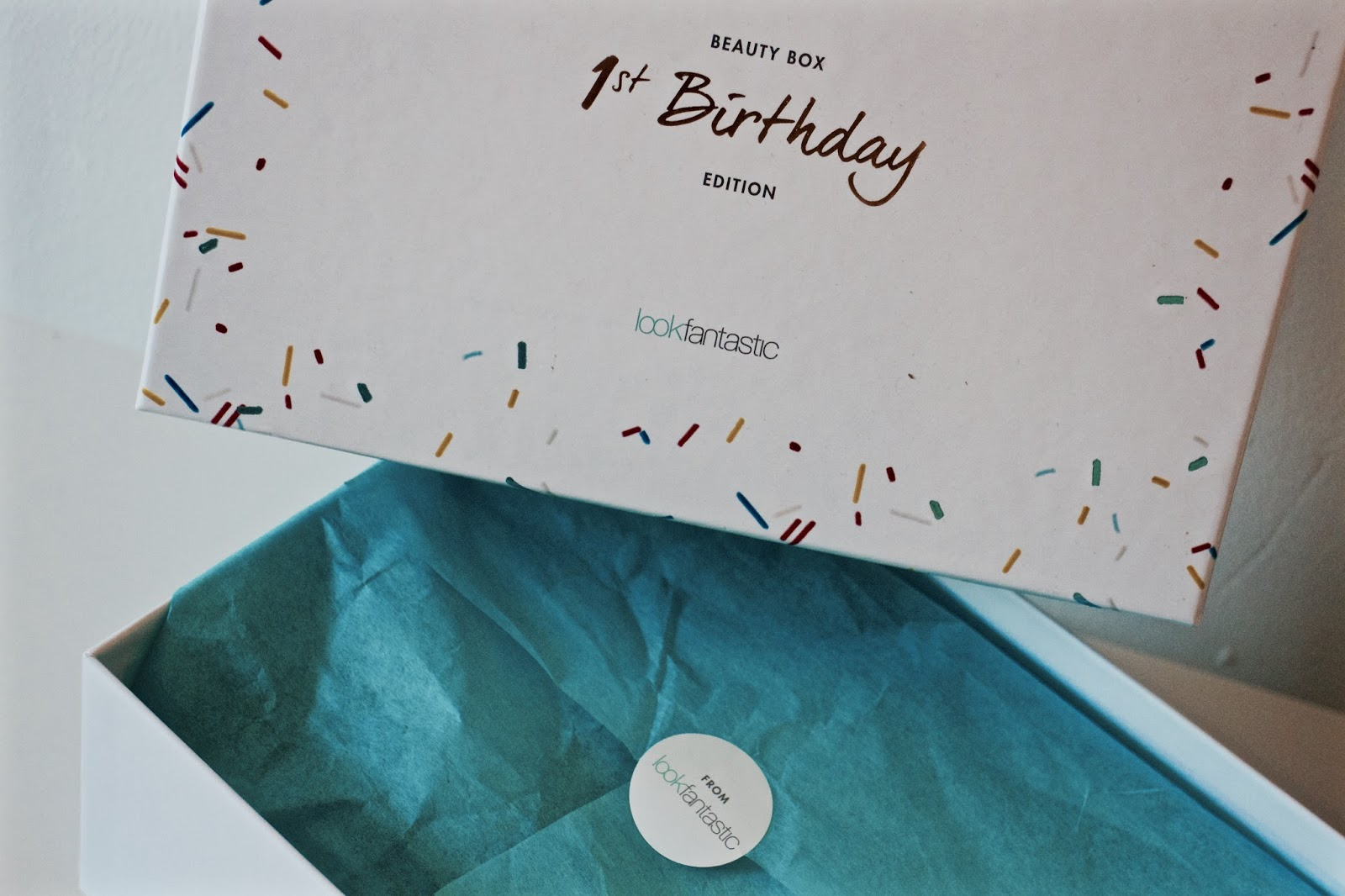 Look Fantastic 1st Birthday Beauty Box