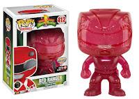 Funko Pop! Red Ranger Glitter