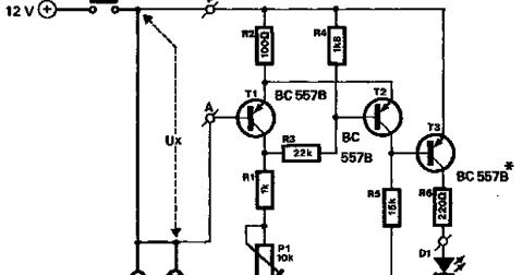 Car Brake Lights Monitor Circuit | CircuitsProjects
