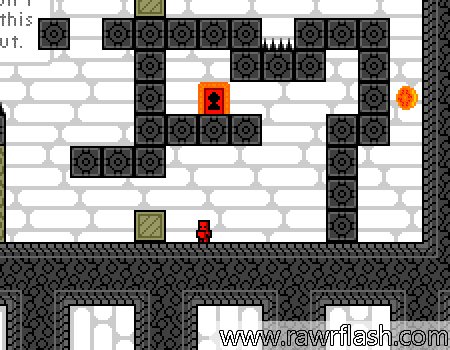 Jogo de pixel e plataforma com puzzles, revive