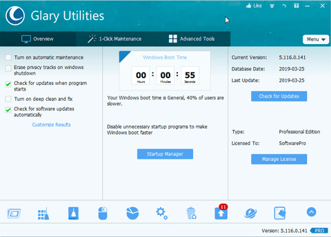 Glary Utilities Pro Full Active