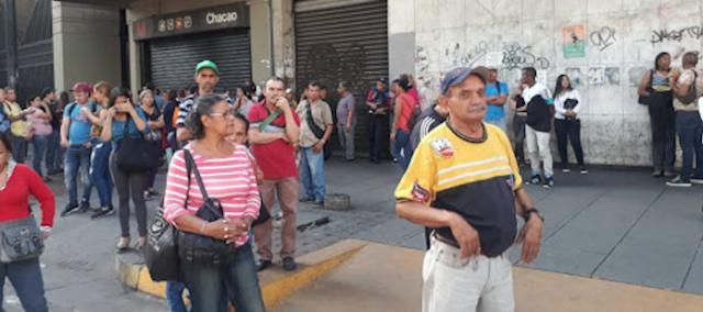 Tercer megapagón paralizó a Caracas en menos de un mes