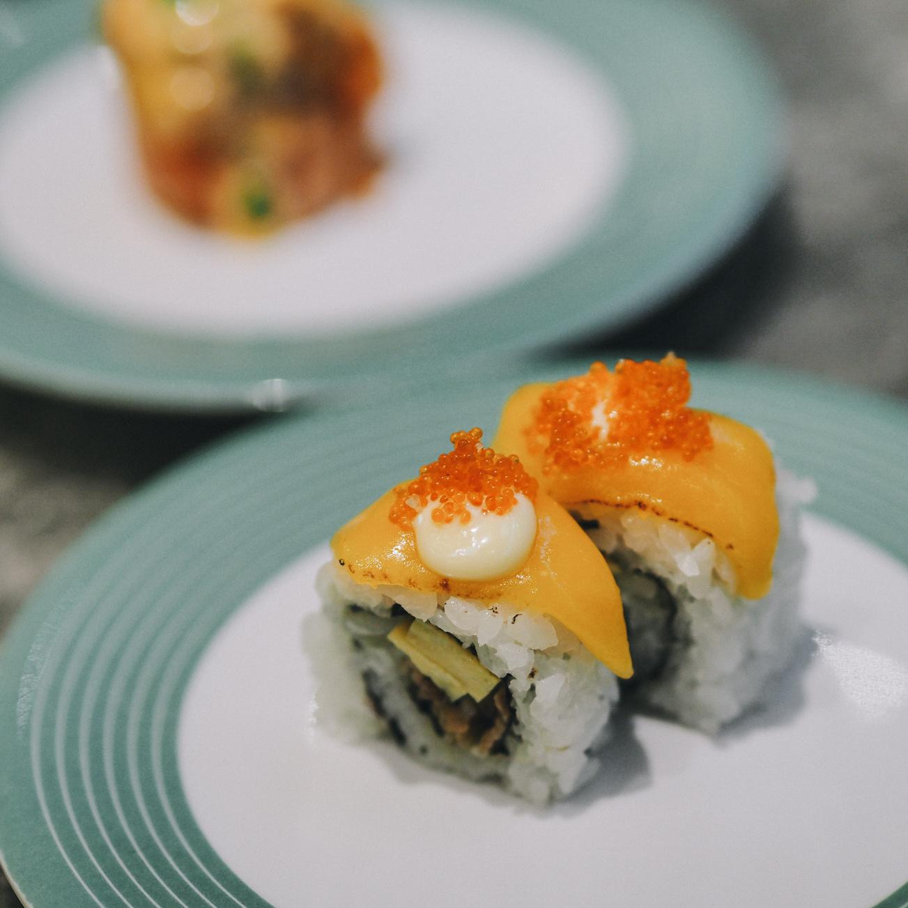 sushi go grand indonesia eatandtreats indonesian. Black Bedroom Furniture Sets. Home Design Ideas