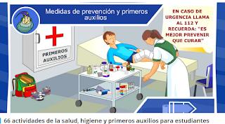 http://yoprofesor.org/2014/02/03/66-actividades-de-la-salud-higiene-y-primeros-auxilios-para-estudiantes/#prettyPhoto