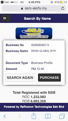 Myrezki Global Labur RM30 Dapat RM19ak