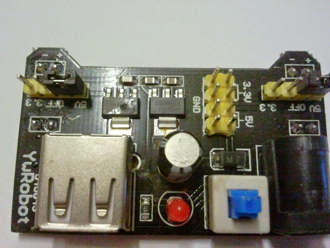 IK1ZYW Labs: Breadboard power supply module destructive failure