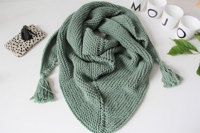 Blog, breien, Gratis breipatronen, knitting, Lana Grossa Organico, puntsjaal, sjaal, Studio Mojo, Wolplein, zomer,