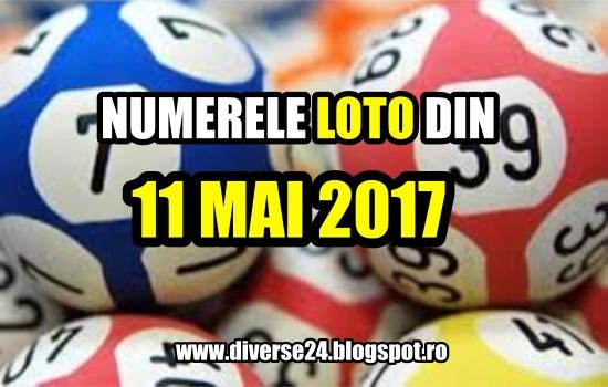 Numerele extrase la tragerile loto din 11 mai 2017