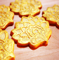 Galletas con relieve o estampadas GALLETAS DE MANTEQUILLA