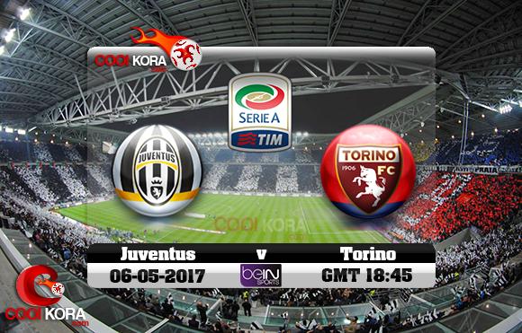 مشاهدة مباراة يوفنتوس وتورينو اليوم 6-5-2017 في الدوري الإيطالي