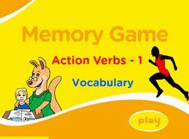 http://www.eslgamesplus.com/action-verbs-memory-game-for-esl-learning-very-low-beginners/