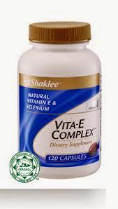 Vitamin E Kecantikan Shaklee