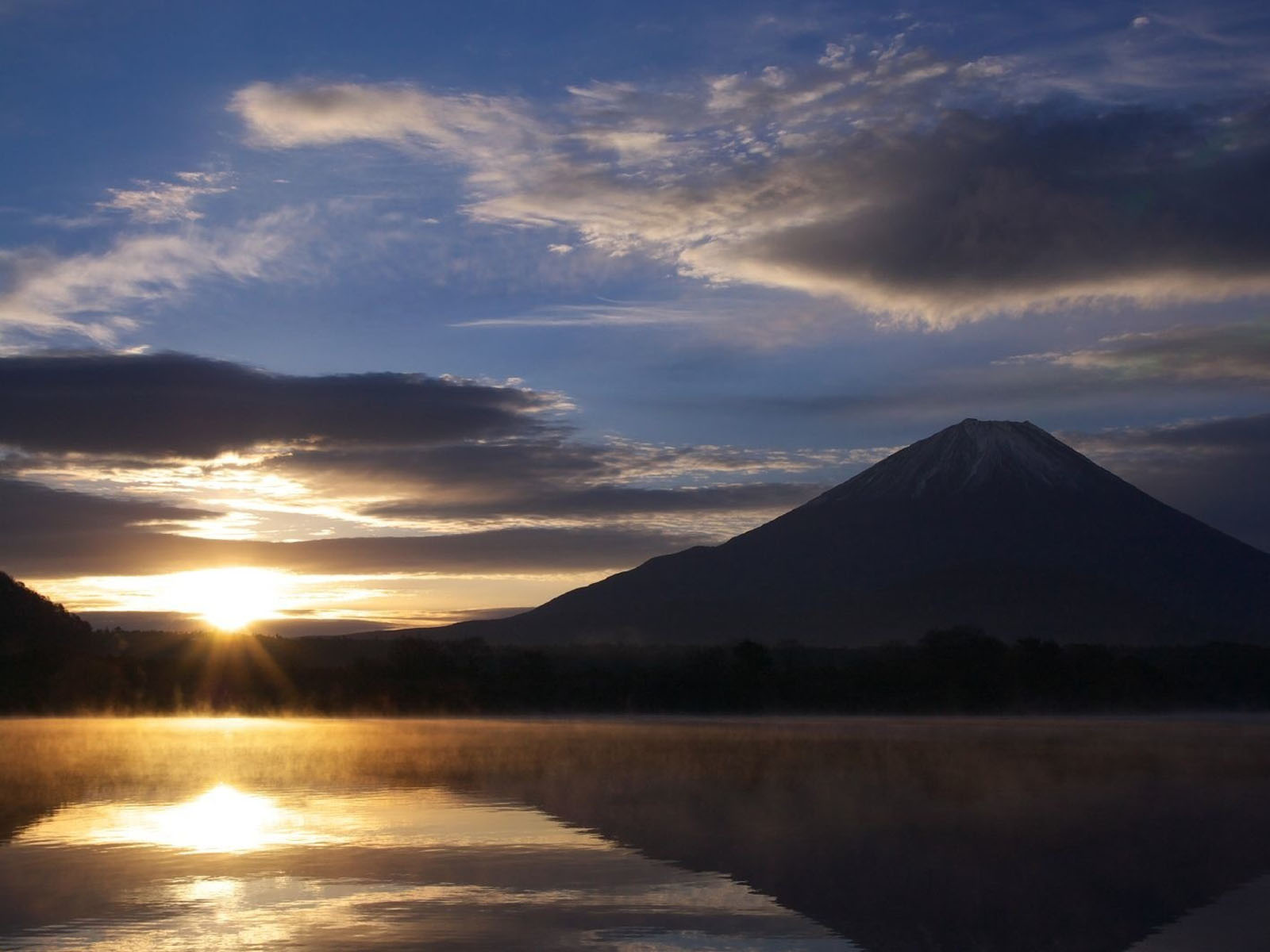 wallpapers: Mountain Sunrise Wallpapers