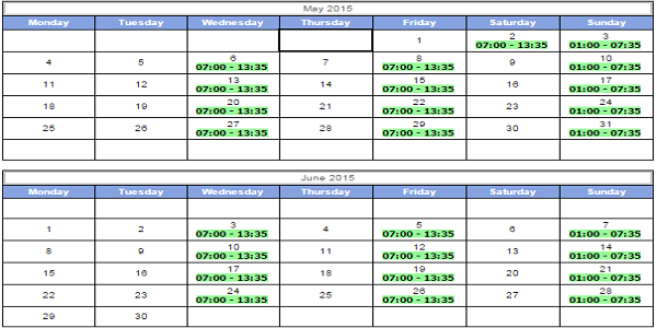 Brisbane to Nauru Flight Schedule of Nauru Airlines
