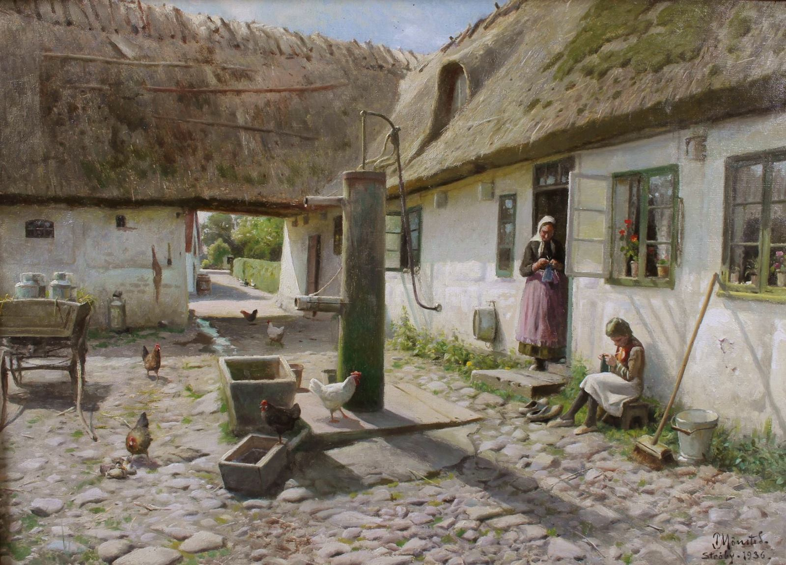 Peder Mork Monsted ~ Ao ar livre