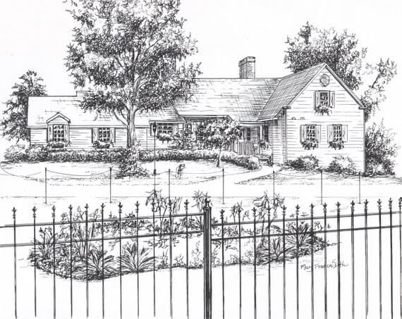 09-Custom-House-Drawing-Ink-Mary-Frances-Smith-Architecture-Expressed-in-House-Drawings-www-designstack-co