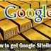 Cara Mendapatkan Sitelink Dalam Kurun Waktu 1 Bulan