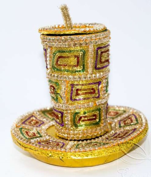Home Design Ideas Hindi: Doodh Pilai Glass Decoration Ideas Wedding Glasses