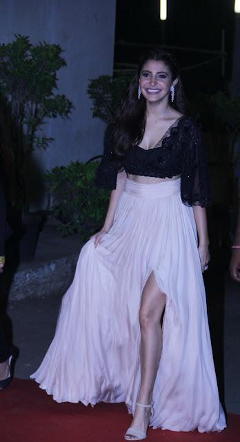 Anushka sharma khan at Lux golden rose Awards