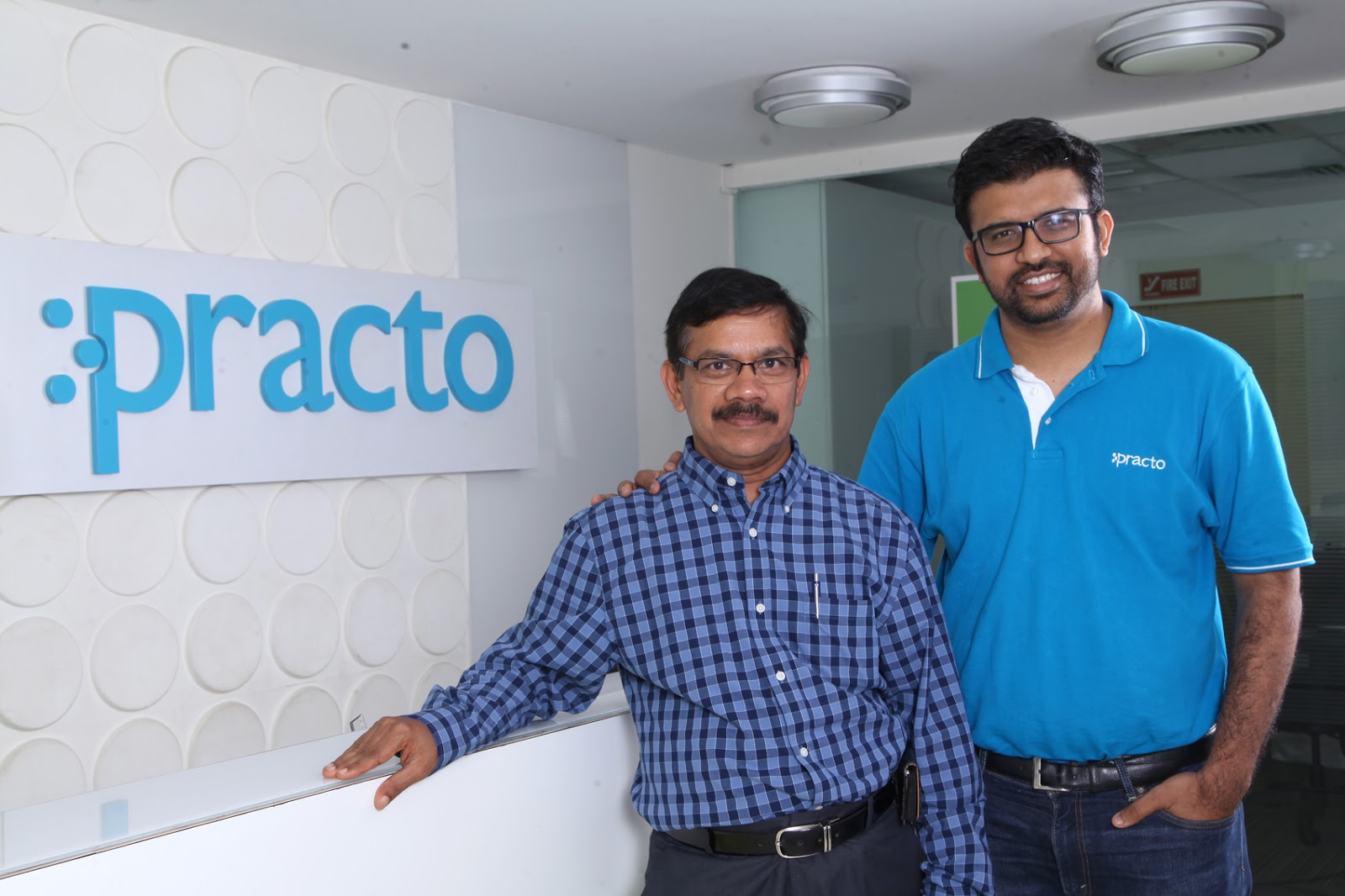 Shashank ND, Founder & CEO, Practo with Ramesh Emani, Founder & CEO,  Insta HealthShashank ND, Founder & CEO, Practo with Ramesh Emani, Founder & CEO, Insta Health