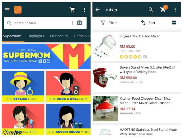 Lazada App Search