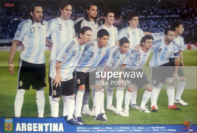 ARGENTINA TEAM SQUAD WORLD CUP 2010