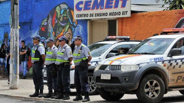 GDF anuncia aumento do policiamento nas escolas