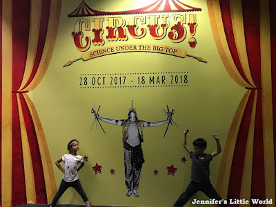 Circus! Science under the Big Top exhibition Singapore