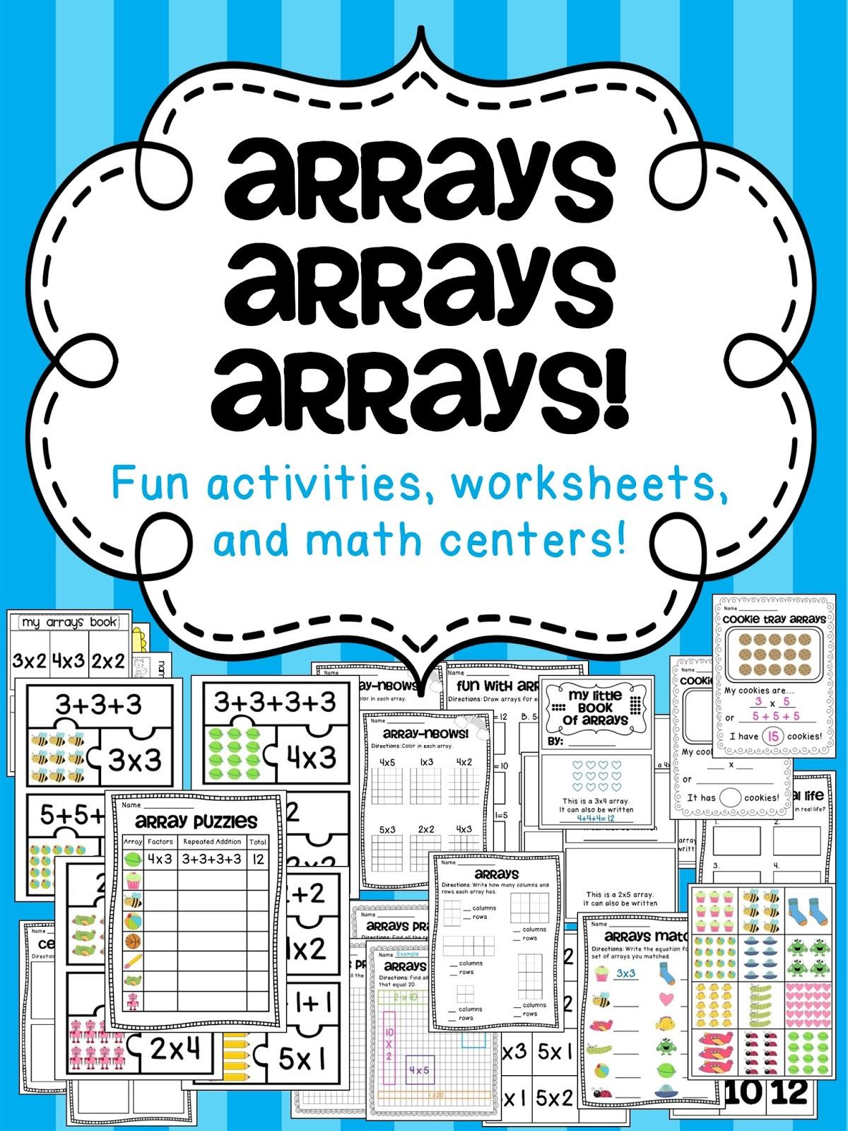 Miss Giraffe's Class: How to Teach Arrays [ 1600 x 1200 Pixel ]