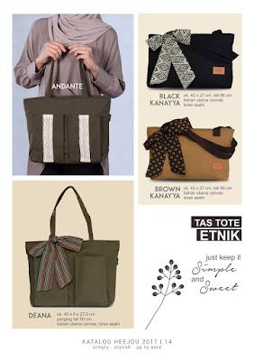 tas brown kanayya, tas tote lucu, tas wanita cantik