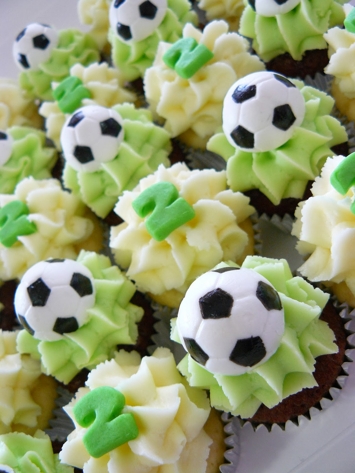 Soccer Ball Birthday Cake Brisbane