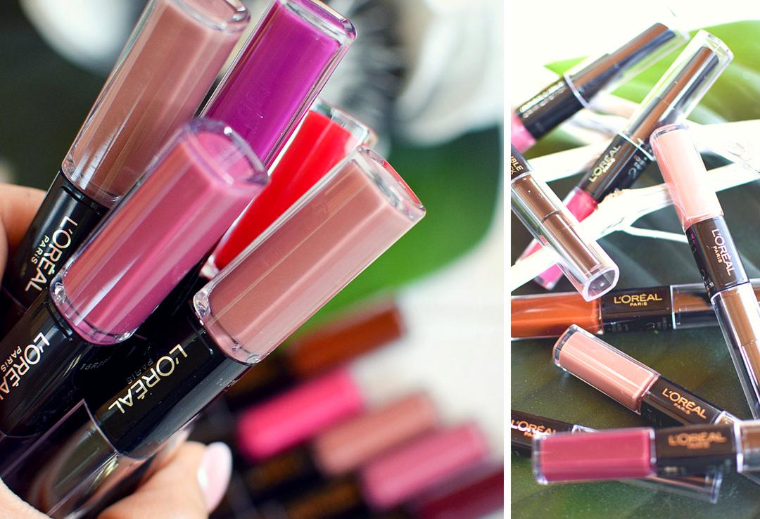 Wie lange halten die  L'Oréal Paris Infaillible X3 24h Lippenstifte, Swatches