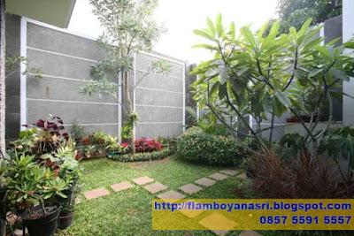 Tukang Taman Surabaya Taman Minimalis Simetris
